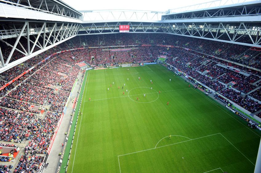 Esprit Arena Sitzplätze