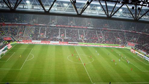 Esprit Arena Dach Geschlossen