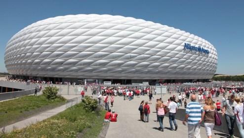 Allianz Arena Gästebereich